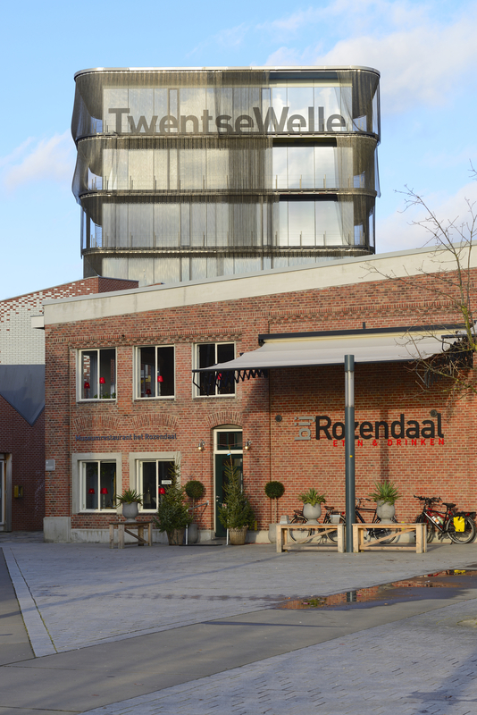 Museum and restaurant in rebuilt Roombeek