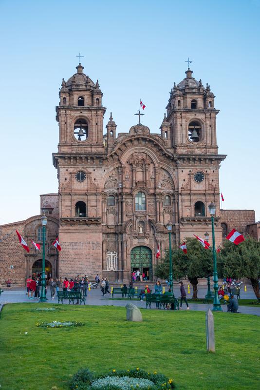 La Compania at Plaza de Armas, Cuzco