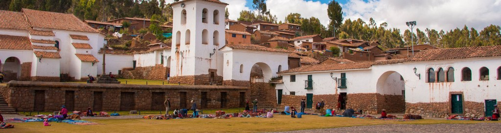 Market at Chinchero, sacred valley of the Incas, Cuzco