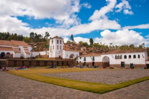 Market at Chinchero, sacred valley of the Incas
