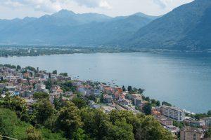 View of Locarno
