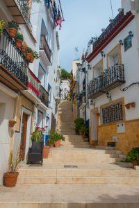 Calle San Rafael in Alicante